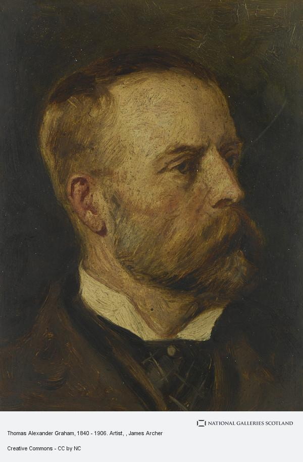 James Archer, Thomas Alexander Graham, 1840 - 1906. Artist