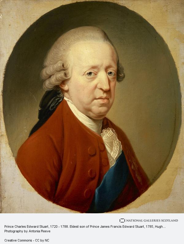Hugh Douglas Hamilton, Prince Charles Edward Stuart, 1720 - 1788. Eldest son of Prince James Francis Edward Stuart