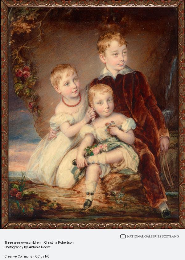 Christina Robertson, Three unknown children