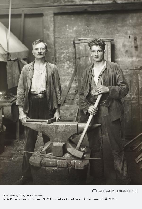 August Sander, Blacksmith(s), 1926 (1926)