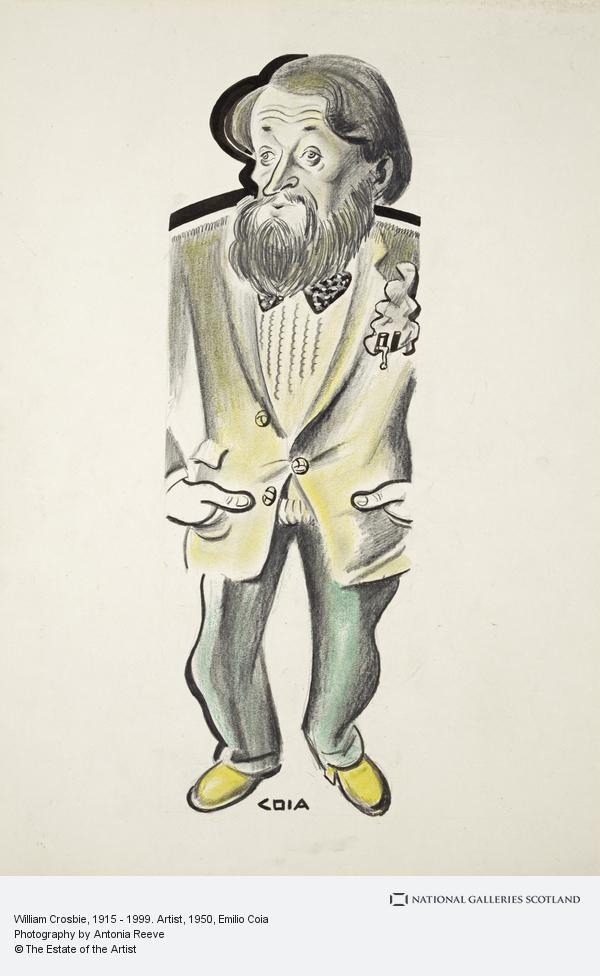 Emilio Coia, William Crosbie, 1915 - 1999. Artist