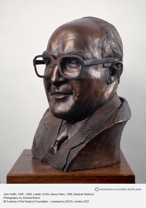 Eduardo Paolozzi, John Smith, 1938 - 1994. Leader of the Labour Party (Dated 1996)