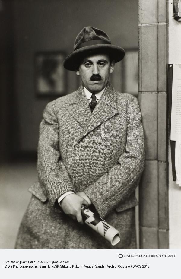 August Sander, Art Dealer [Sam Saltz], 1927 (1927)