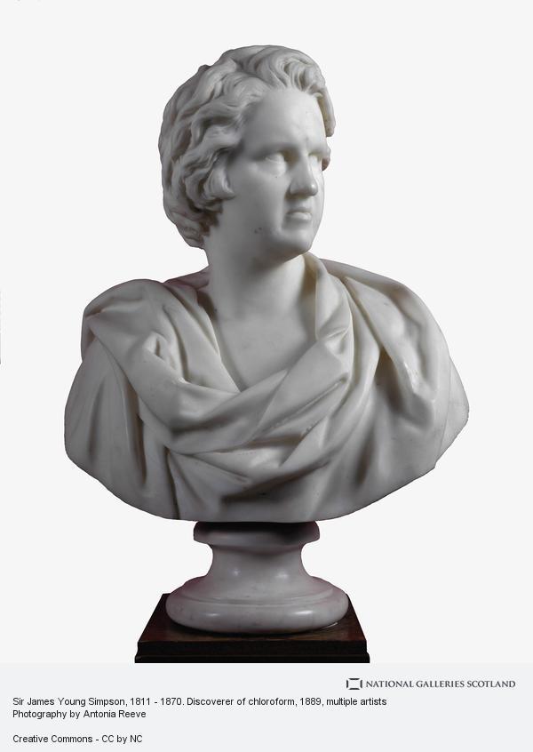 John Stevenson Rhind, Sir James Young Simpson, 1811 - 1870. Discoverer of chloroform