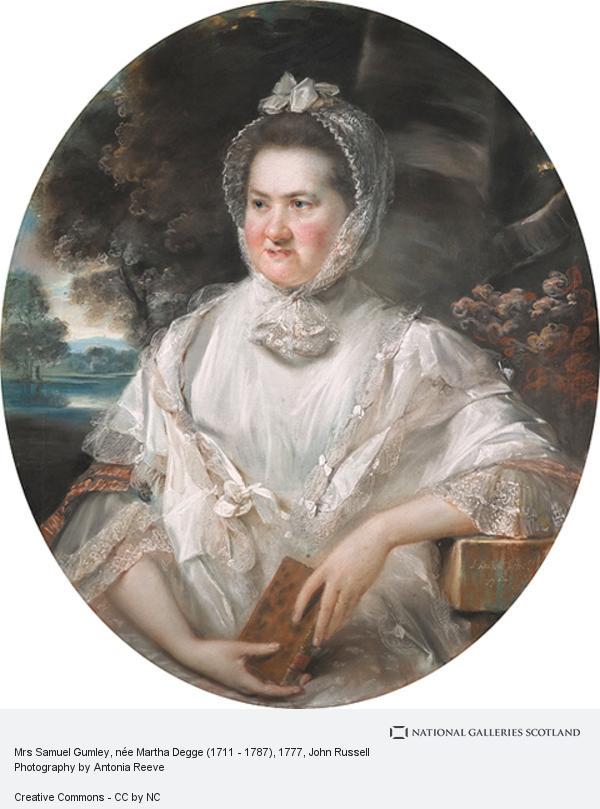 John Russell, Mrs Samuel Gumley, née Martha Degge (1711 - 1787)