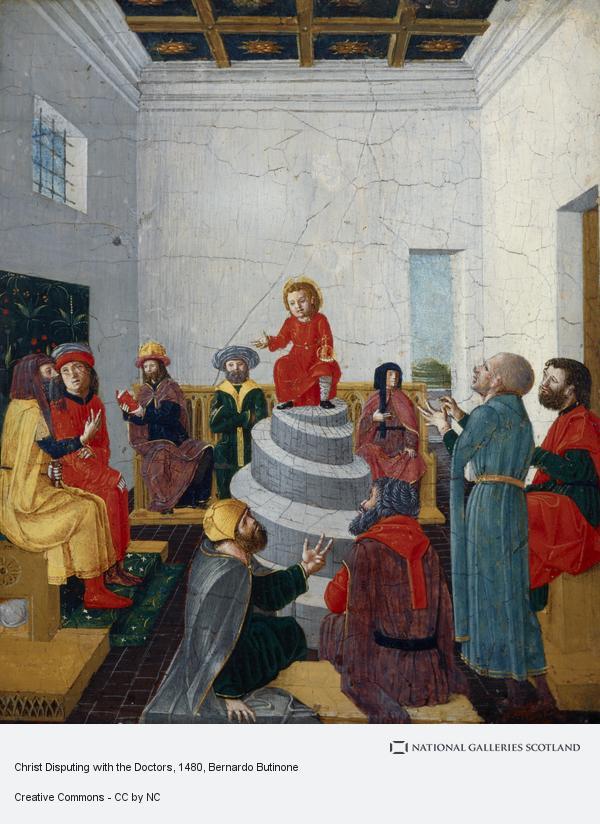 Bernardo Butinone, Christ Disputing with the Doctors