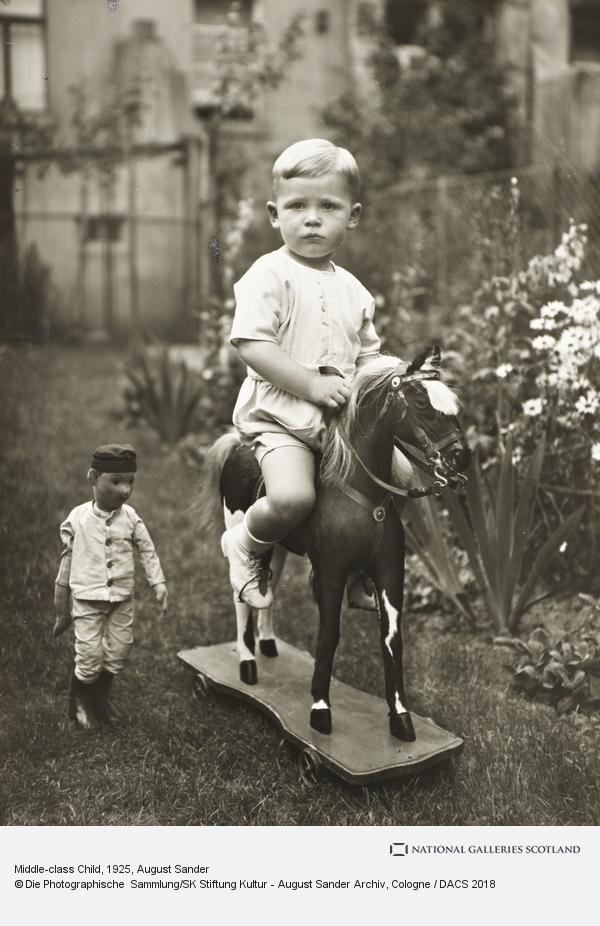 August Sander, Middle-class Child, c.1925 (about 1925)