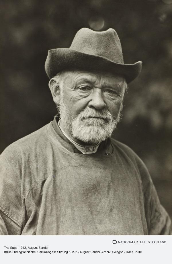 August Sander, The Sage (1913)