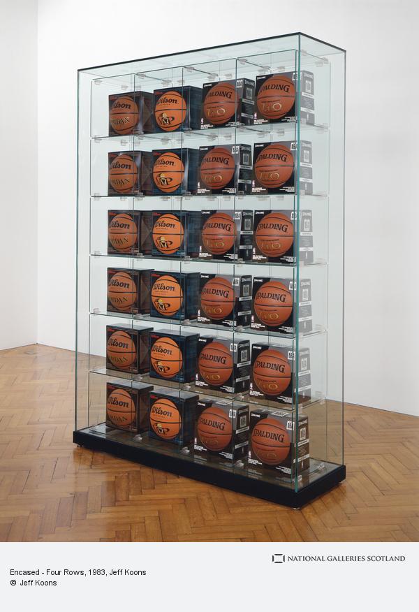 Jeff Koons, Encased - Four Rows