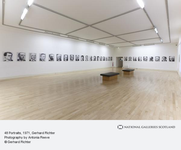 Gerhard Richter, 48 Portraits (1971 - 1972 / 1998)