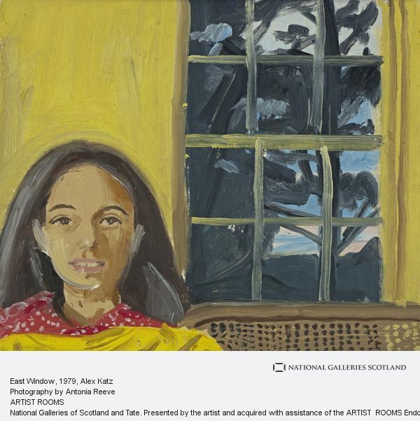 Alex Katz, West Window (1979)