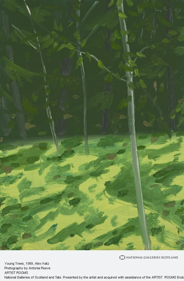 Alex Katz, Young Trees (1989)