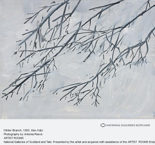 Alex Katz, Winter Branch (1993)