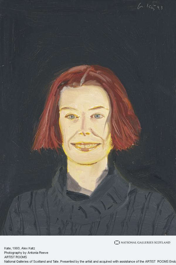 Alex Katz, Kate (1994)