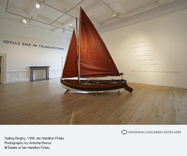 Ian Hamilton Finlay, Sailing Dinghy (1996)
