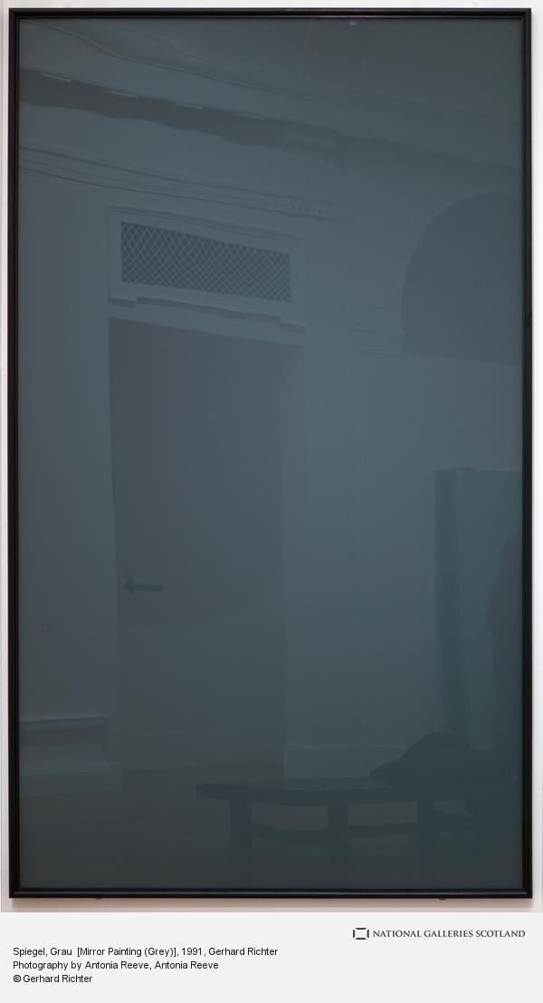 Gerhard Richter, Spiegel, Grau  [Mirror Painting (Grey)] (1991)