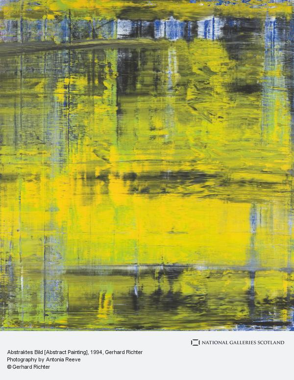 Gerhard Richter, Abstraktes Bild [Abstract Painting]