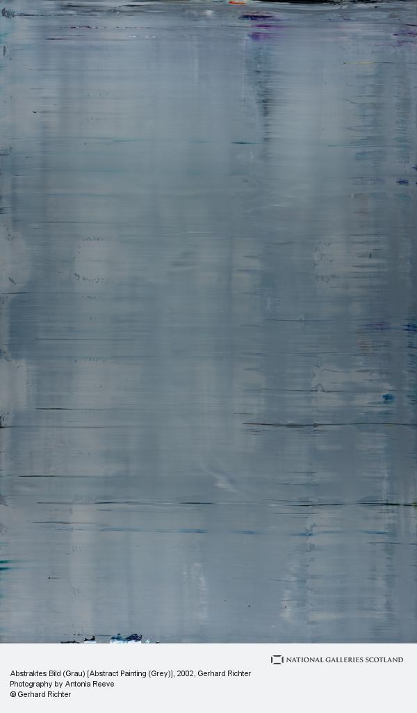 Gerhard Richter, Abstraktes Bild (Grau) [Abstract Painting (Grey)]