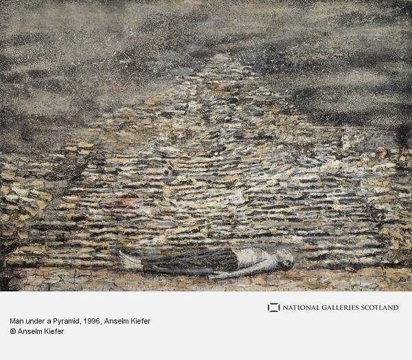 Anselm Kiefer, Man under a Pyramid (1996)