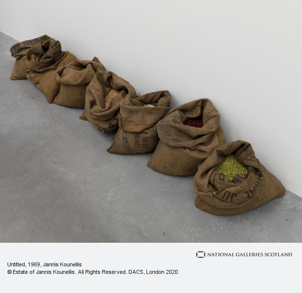 Jannis Kounellis, Untitled (1969)