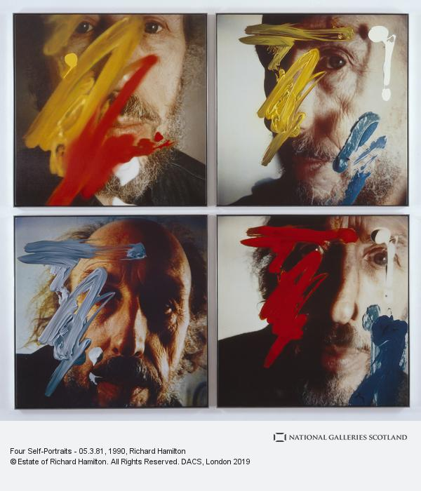 Richard Hamilton, Four Self Portraits - 05.3.81 (1990)
