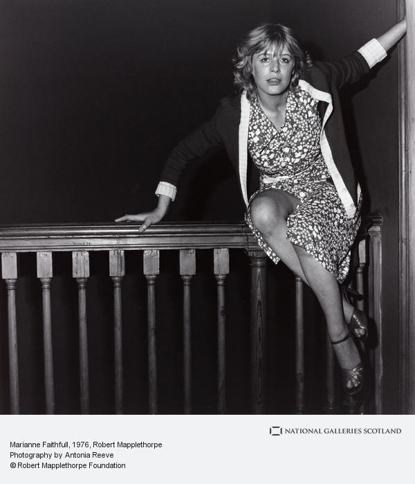 Robert Mapplethorpe, Marianne Faithful (1976)