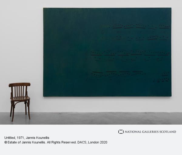 Jannis Kounellis, Untitled (1971)