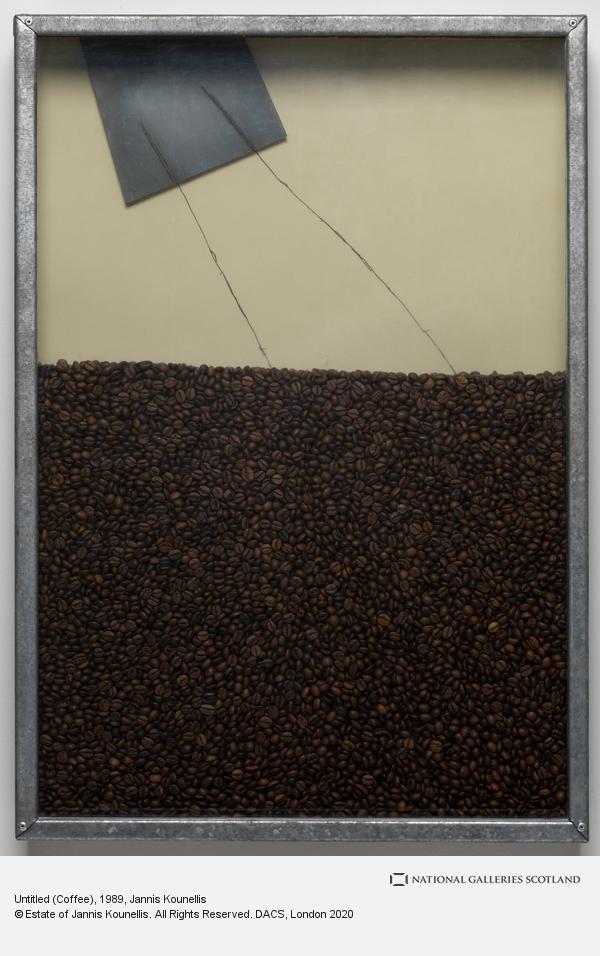 Jannis Kounellis, Untitled (Coffee) (1989 - 1991)