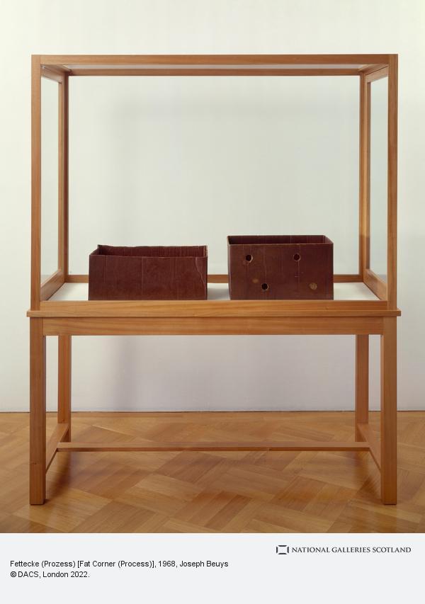 Joseph Beuys, Fettecke (Prozess) [Fat Corner (Process)]