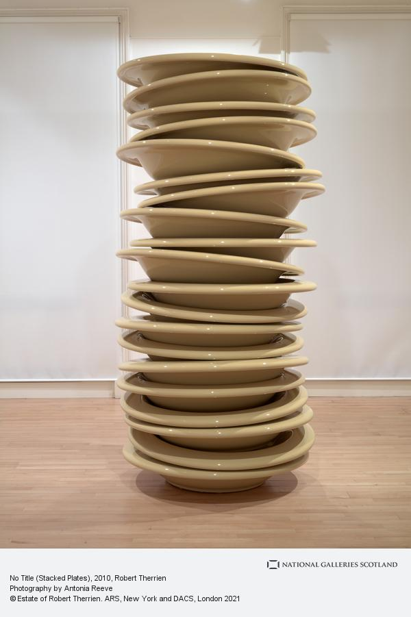 Robert Therrien, No Title (Stacked Plates) (2010)