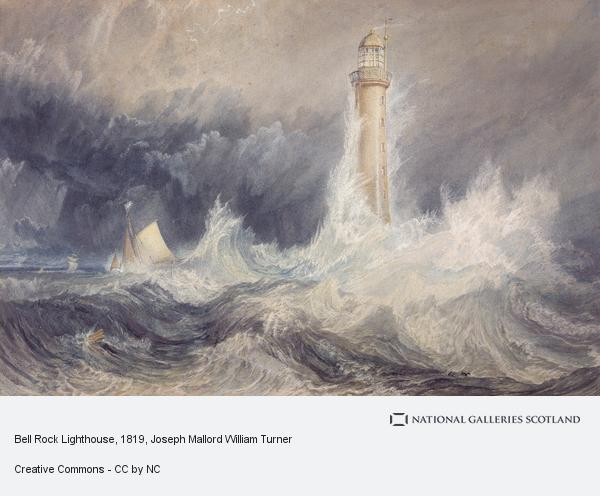 Joseph Mallord William Turner, Bell Rock Lighthouse (1819)