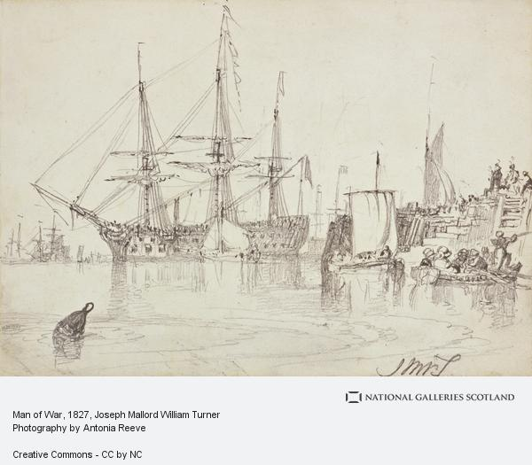 Joseph Mallord William Turner, Man of War