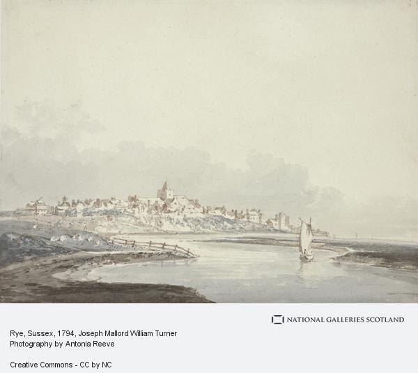 Joseph Mallord William Turner, Rye, Sussex