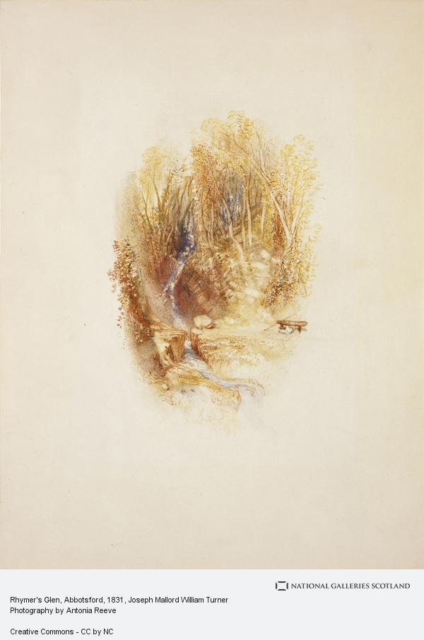 Joseph Mallord William Turner, Rhymer's Glen, Abbotsford (1831)
