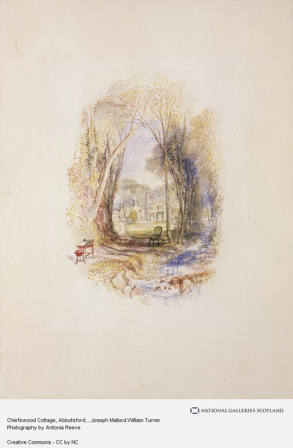 Joseph Mallord William Turner, Chiefswood Cottage at Abbotsford (1831/2)