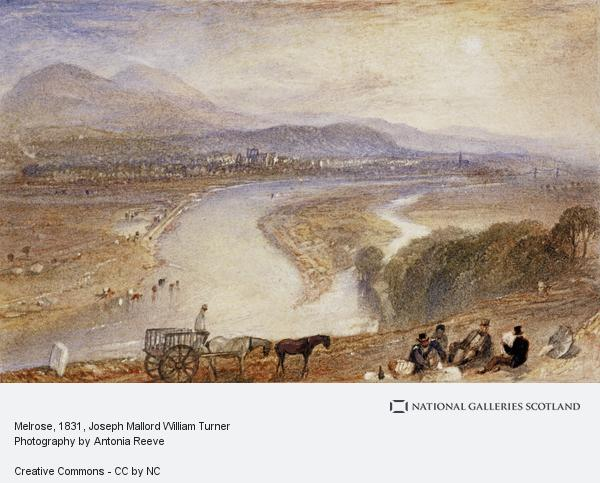 Joseph Mallord William Turner, Melrose (1831)