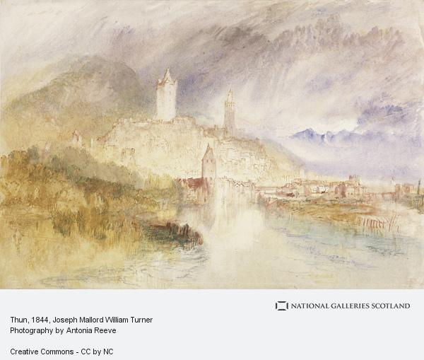 Joseph Mallord William Turner, Thun