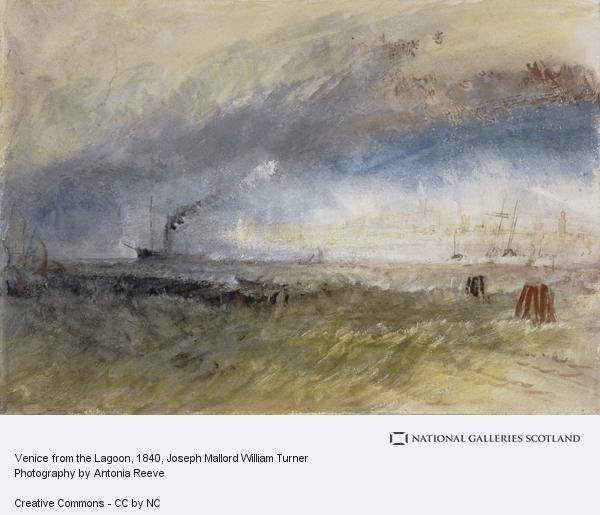 Joseph Mallord William Turner, Venice from the Laguna