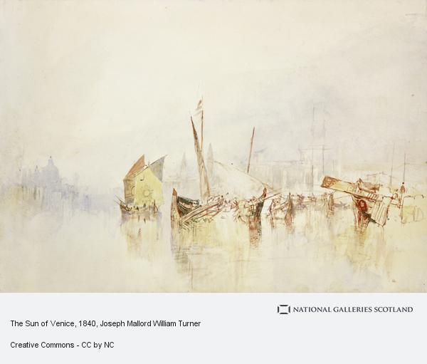 Joseph Mallord William Turner, The Sun of Venice