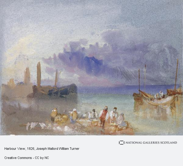 Joseph Mallord William Turner, Harbour View (About 1826)