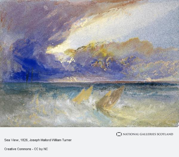 Joseph Mallord William Turner, Sea View (About 1826)