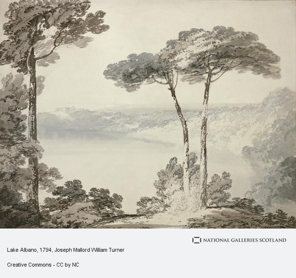 Joseph Mallord William Turner, Lake Albano