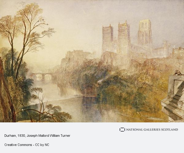 Joseph Mallord William Turner, Durham (About 1830 - 1835)