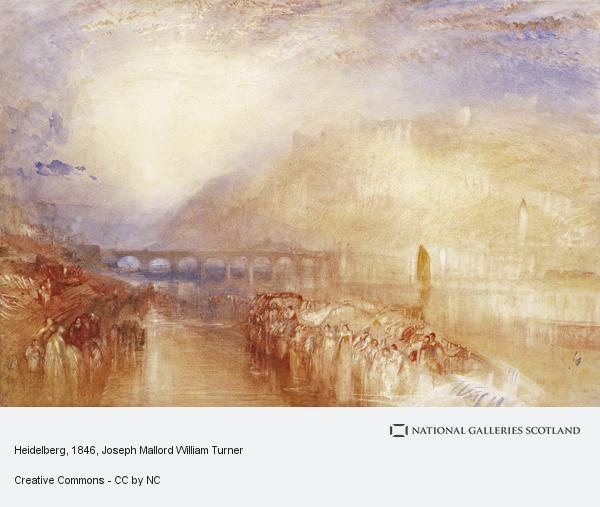 Joseph Mallord William Turner, Heidelberg