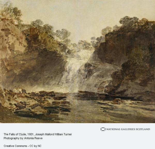 Joseph Mallord William Turner, The Falls of Clyde (1801)