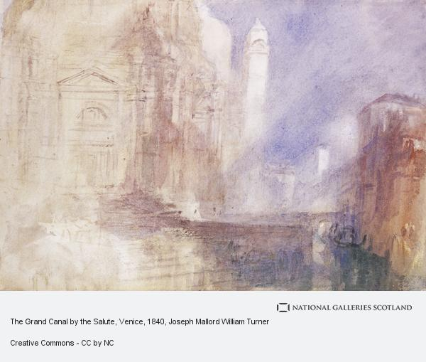 Joseph Mallord William Turner, The Grand Canal by the Salute, Venice