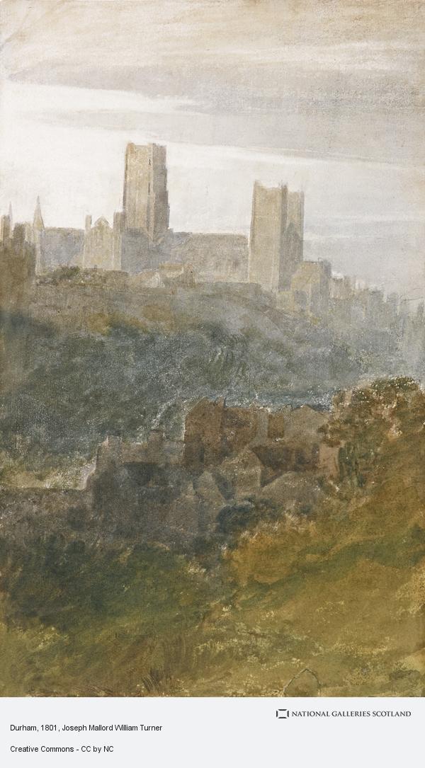 Joseph Mallord William Turner, Durham