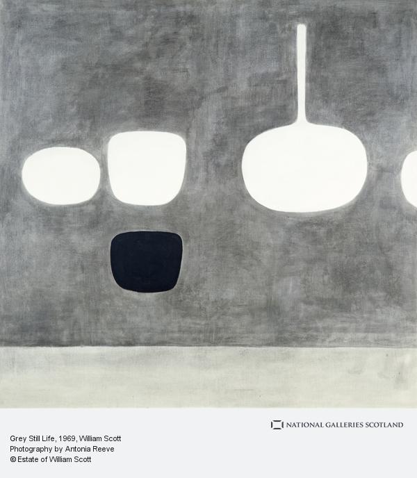 William Scott, Grey Still Life