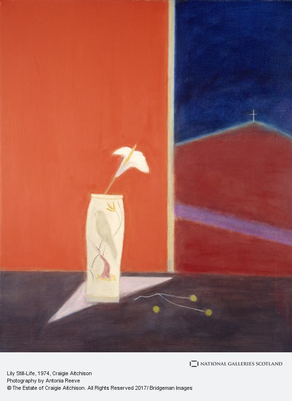 Craigie Aitchison, Lily Still-Life