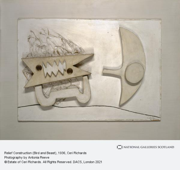 Ceri Richards, Relief Construction (Bird and Beast)
